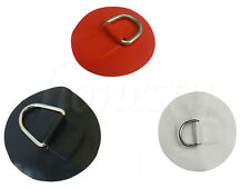 1/4 x Stainless steel D-ring Pad/Patch for PVC Inflatable Boat Raft Dinghy Kayak