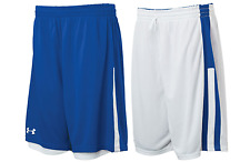 Under Armour mens Undeniable reversible  Basketball Shorts  Royal / White 2xl