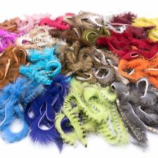 BLACK BARRED RABBIT ZONKER STRIPS - Hareline Jig Fly Tying 21 COLORS AVAILABLE!