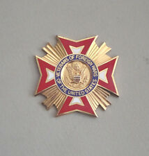 VETERANS OF FOREIGN WARS VETERANS OF THE UNITED STATES MEDAL BADGE
