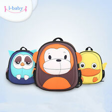 i-baby Zoo Animal Little Baby Kids Toddler Backpack School Bag Ages 2+ 6 colors
