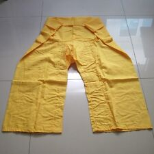 Thai-fisherman-pants-trouser-Yoga-Kungfu-Taichi-Boho-Hippie-Massage-Exercise
