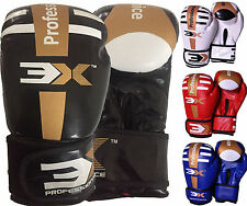 Boxing Gloves Bag Mitts Grappling Punch Bag MMA Training KickBoxing