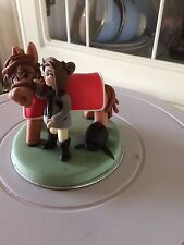 Edible Horses and Horse Accessory Cake Topper Decorations
