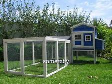 Chicken Coop LARGE Somerzby  MANSION and RUN Rabbit Hutch Cat Enclosure cage pen