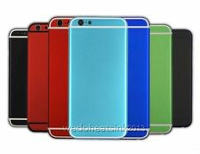 Colorful Metal Back Rear Battery Housing Cover Case Replacement For iPhone 6