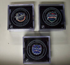 Winter Classic, Stadium Series Chicago Blackhawks Official Game Puck You Choose