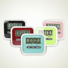 Digital Large LCD Kitchen Cooking Timer Count-down Loud Alarm Reminder Magnetic