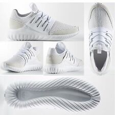 ADIDAS TUBULAR RADIAL MEN'S RUNNING SHOES LIFESTYLE SNEAKERS White/Vintage White