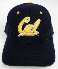 CAL GOLDEN BEARS CALIFORNIA NCAA NAVY VINTAGE FITTED SIZED ZEPHYR DH CAP HAT NWT