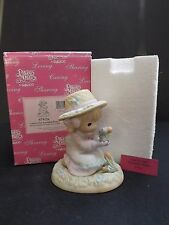 """PRECIOUS MOMENTS """"LORD LET OUR FRIENDSHIP BLOOM"""" - RARE - #879126 - NEW IN BOX"""