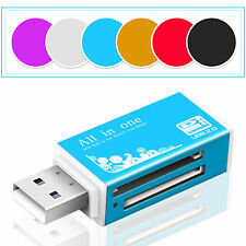 All in 1 USB 2.0 Compact Flash Multi Card Reader CF Adapter Micro SD MS XD 5Gbps