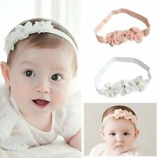 Toddler Newborn Kids Baby Girl Bow Flower Headband HairBand Headwear Accessories