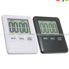 Large LCD Display Digital Kitchen Timer Count Down Up Clock Loud Alarm
