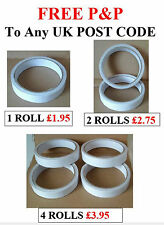 Up To 4 Rolls of Double Sided Adhesive Sticky Tape Size 1.8cms x 8mtrs BRAND NEW