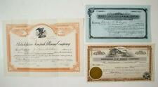 Tonopah, Nevada - Mining Stock Certificate Collection  *  (3) please inspect