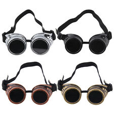 NEW Cyber Goggles Steampunk Glasses Vintage Retro Welding Punk Gothic GV