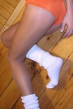 TAMARA PANTYHOSE Hooters 40 Denier Hosiery Men & Women LIGHT SUNTAN Size C M/L