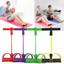 Workout Resistance Band Rope Tube Elastic Exercise Equipment for Yoga Pilates DP
