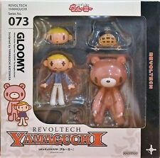 Revoltech 073 Gloomy Bear Pink Fight Naughty Bloody Action Figure Kaiyodo