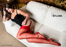 Cervin Seduction Couture, Nylons, Seam Stockings Suspender Stockings, Nylons