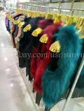 Real Raccoon fur Vest With Tassels coat Waistcoat Jacket women real fur gilet