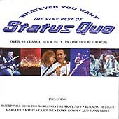 Status Quo - Whatever You Want (The Best of) (2 X CD)