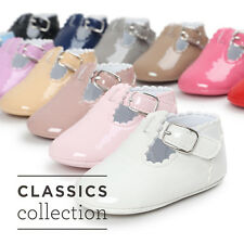 12 Colors Baby Pretty Girl Pre Walker Soft Sole PU Casual Dress Shoes
