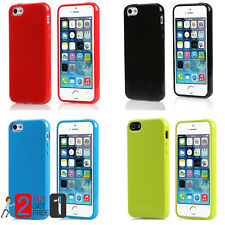 Thin Slim Soft Silicone Gel Rubber Jelly Phone Case Cover for iPhone 5 5S SE