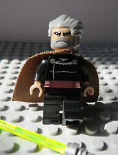 REAL LEGO,STAR WARS FIGURE, COUNT DOOKU, CLONE WARS SITH (RARE)  Lot 126