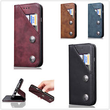 New Vintage Style Magnetic Leather Wallet Case Skin Cover For iPhone 6S 7 7Plus