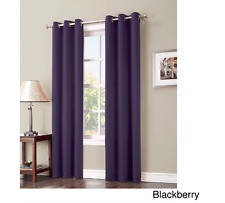 Window Light Blocking Curtains Hayden Grommet Blackout Curtains Panel Solid New