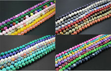 "14.5""10mm ASSORTED COLORS/MIXED Nature gemstone Round Loose Bead Wholesale 38pcs"