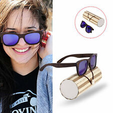 SOOKIE SK-04 Men Women Sunglasses Wooden Frame Resin Lens UV400 Sunglasses XP