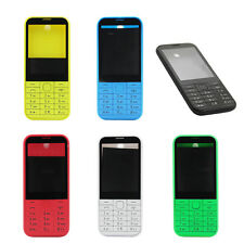 New for Nokia 225 Full Front Case Housing Shell Lens Cover Keypad Battery Cover