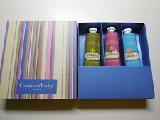 NEW Crabtree & Evelyn Hand Therapy Gift Set Citron La source Rosewater 50g