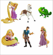Official Bullyland Disney Tangled Figures Figurines Toys Cake Topper Toppers Toy