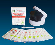 TCS & Sonic Cleaner ~ TCS Sachets Unbreakable Flexible Dentures & Cleaning Case