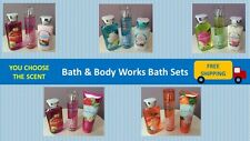 BATH & BODY WORKS BATH SETS - SHOWER GEL / BODY CREAM OR LOTION / FRAGRANCE MIST