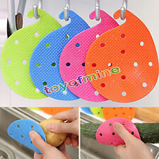 New Veggie Vegetable Scrubber Scrub Cleaning Brush Kitchen Cleaner Carrot Potato
