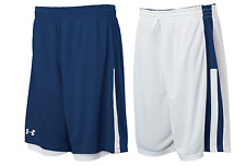 Under Armour mens Undeniable reversible Basketball Shorts  Navy / White Large