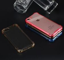 Fashion Translucent Hard Phone Case Clear TPU Bumper Cover For Apple iPhone 7