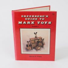"1st Ed. 1988 ""Greenberg's Guide to MARX Toys"" Pinsky Illustrated Hardcover No DJ"