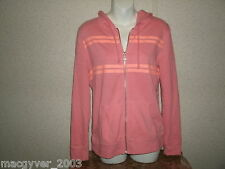 Victoria's Secret long sleeve hooded striped back graphic sweatshirt hoodie S