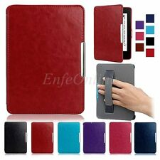 For Amazon Kindle Paperwhite 1/2/3 Slim Magnetic Leather Smart Case Cover Skin