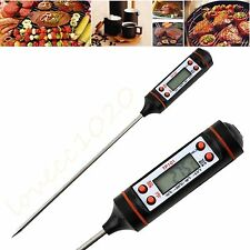 Digital Cooking Food Probe Meat Kitchen BBQ Selectable Sensor Thermometer Hot XP