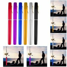 Hot Portable Aluminum Alloy Pocket Pen Shape Fish Fishing Rod Pole With Reel DP
