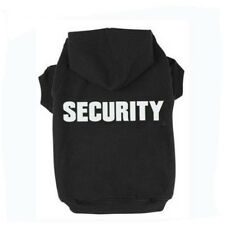 Pet Dog Security Printed Clothes Sweatshirts Hoodies Sweaters Puppy Teddy