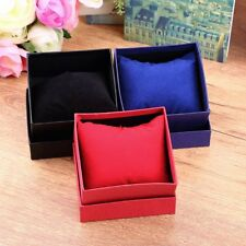 Fashion Present Gift Boxes Case For Bangle Jewelry Ring Earrings Wrist Watch XP