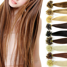 16 inch 100 strands Pre Bonded Nail U Tip 100% Remy Human Hair Extensions